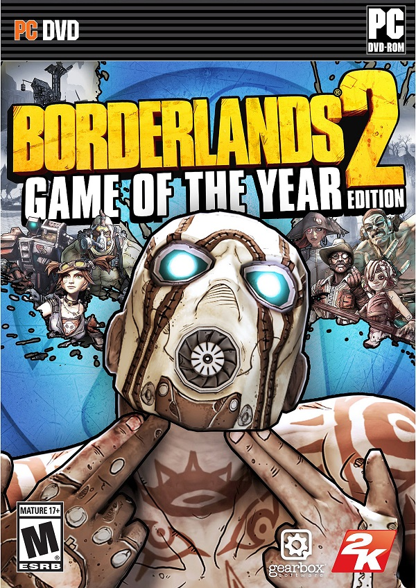 Amazon.com: Borderlands 2: Game of the Year Edition: Take ...