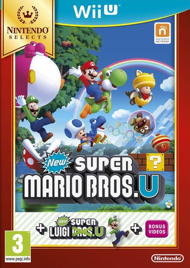 NEW SUPER MARIO BROS U & NEW SUPER LUIGI U [Loadiine GX2