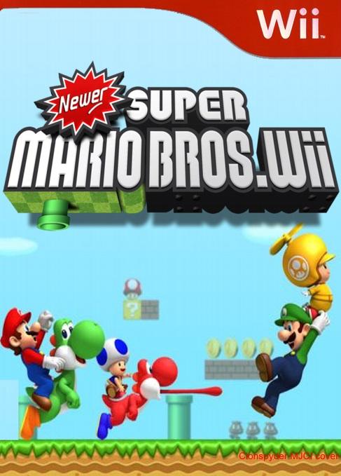 🔥 Descargar New Super Mario Bros Wii NTSC