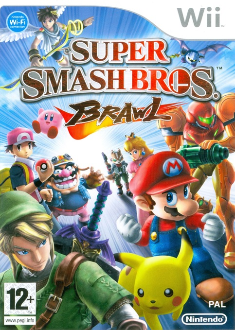 super smash bros brawl wii wbfs